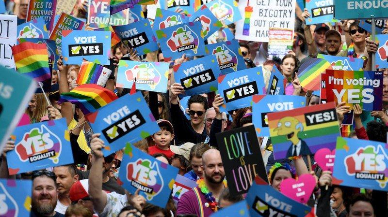 Australie: lancement d'une grande campagne de consultation postale sur le mariage gay