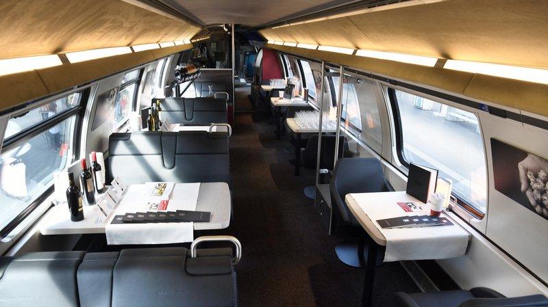 Les CFF veulent 30 wagons-restaurants supplémentaires pour compenser l'abandon des minibars