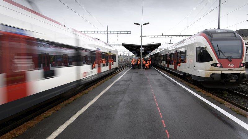 CFF: le trafic est revenu à la normale entre Genève et Lausanne