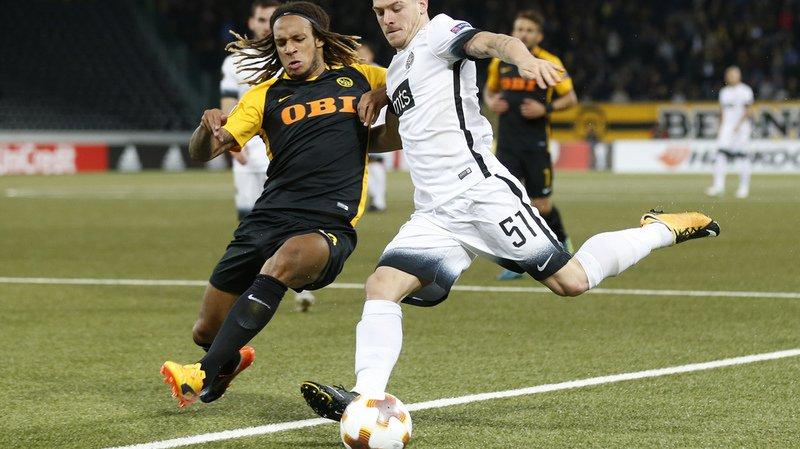 Football: Young Boys contraint au nul en Europa League par le Partizan Belgrade