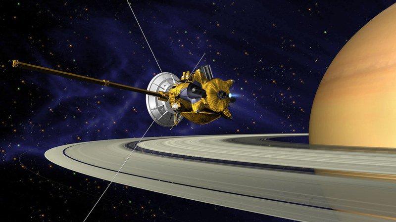 La sonde Cassini a plongé vers Saturne et émis son dernier message