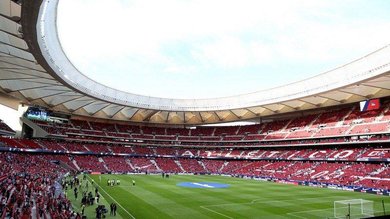 Football: la finale de la Ligue des champions aura lieu au Wanda Metropolitano, le nouveau stade de l'Atletico Madrid