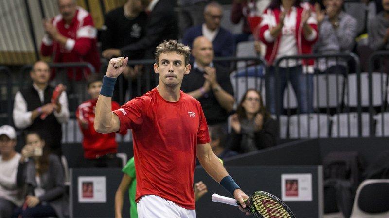 ATP de Shenzhen: Henri Laaksonen file en quarts de finale