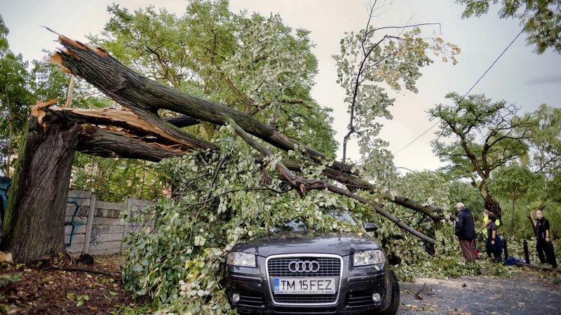 Roumanie: une violente tempête fait huit morts et soixante-sept blessés