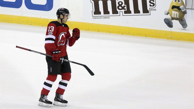 Hockey - NHL: le Valaisan Nico Hischier inscrit son deuxième but en préparation avec les Devils