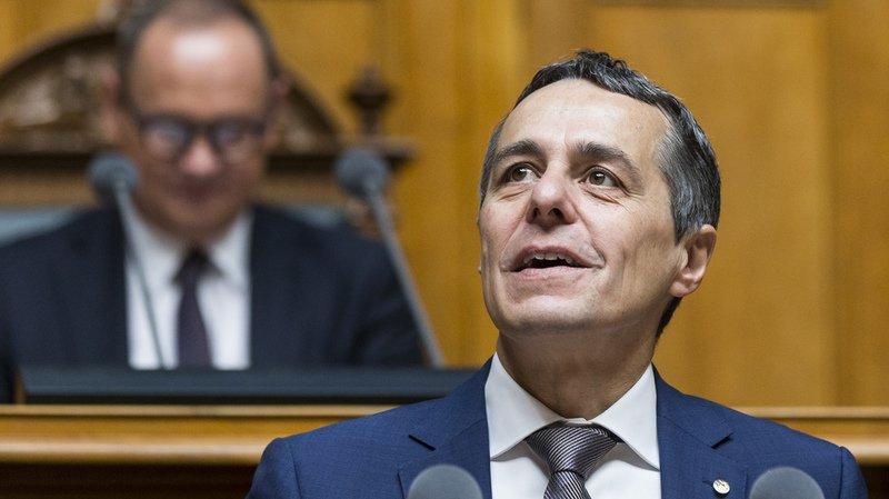 Conseil fédéral: Ignazio Cassis reprend les affaires étrangères, pas de rocade au gouvernement
