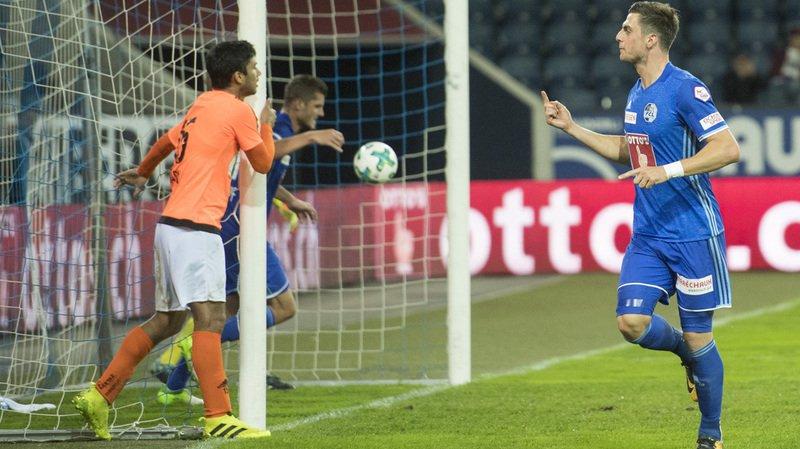 Super League: Lausanne-Sport l'emporte 3-2 à Lucerne et n'est plus dernier du classement