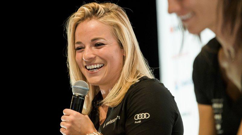 Ski alpin: victime d'une blessure il y a 7 mois, Lara Gut a retrouvé la paix