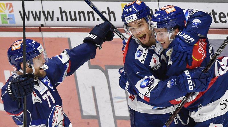 National League: Lausanne a tenu un tiers-temps à Zurich, Zoug vainqueur à Lugano