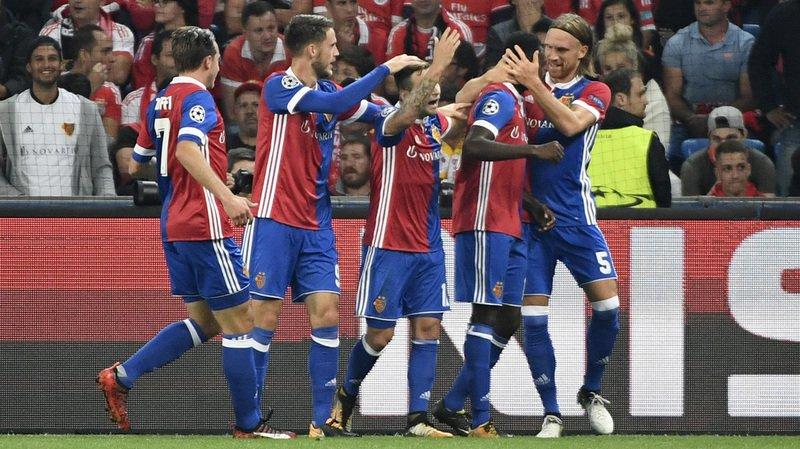 Ligue des Champions: le FC Bâle humilie le Benfica Lisbonne 5 à 0 au stade St-Jacques