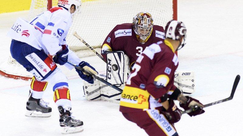 Hockey: en National league, Genève-Servette s'impose aux tirs au but face à Zurich Lions