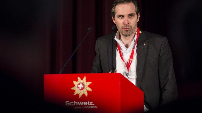Le Conseil fédéral Martin Nydegger l'a nommé vendredi pour succéder à Jürg Schmid à partir du 1er janvier 2018.