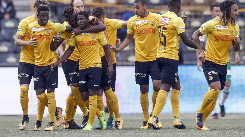 Super League: Young Boys bat St-Gall 6-1 et s'envole en tête du classement