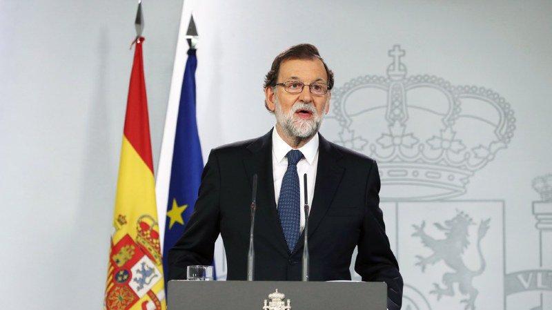 """Rajoy: """"Il n'y a pas eu de référendum aujourd'hui en Catalogne"""""""