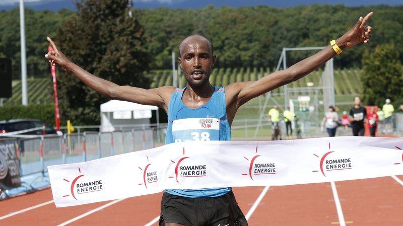 L'Ethiopien Sisay Yazew a signé le nouveau chrono de référence du semi-marathon de la Run, hier à Colovray.
