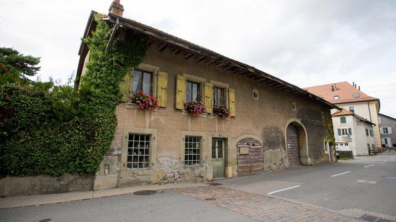 L'habitation historique, à la rue d'Yverdon 9, à Préverenges, sera tout prochainement achetée par la commune.