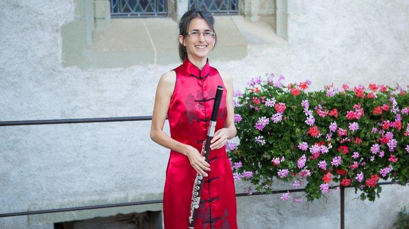 Carole Reuge, flûtiste professionnelle et fondatrice de l'Intermezzo et du La Côte Flûte Festival.