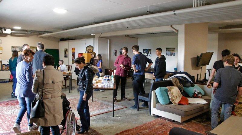 Les jeunes ont convié samedi les voisins et les autorités à visiter leur espace de loisirs, fraîchement aménagé.