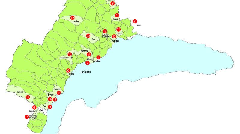 La région chérie par le Gault & Millau