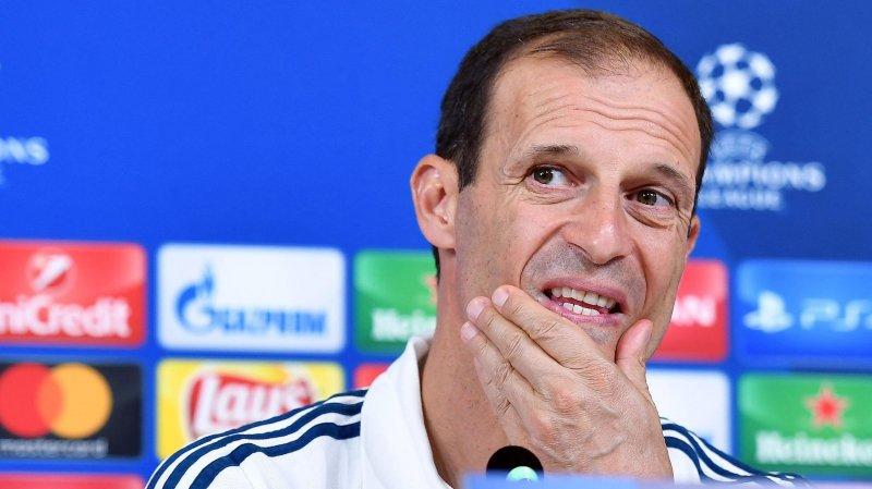 L'entraîneur de la Juve a fait part de ses doutes dimanche.