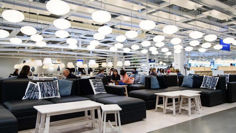 Inauguration des nouveaux espaces Ikea à Aubonne