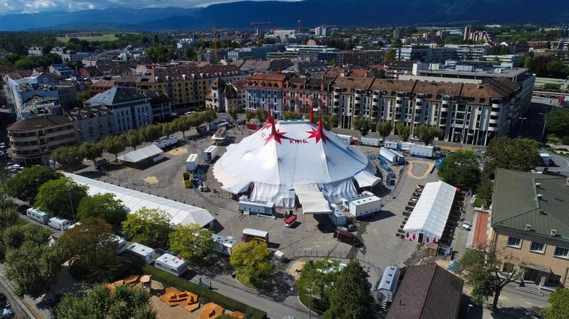 Toujours souple, le cirque Knie est prêt à rebondir hors de Perdtemps