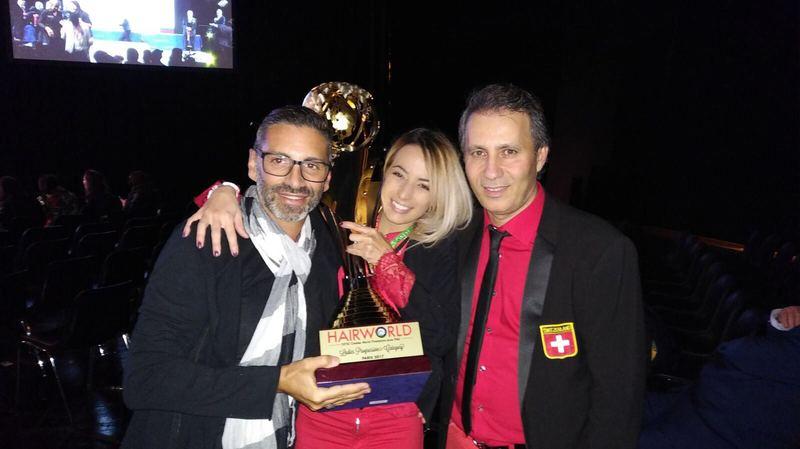 La Begninoise Ileana Costantini championne du monde de coiffure
