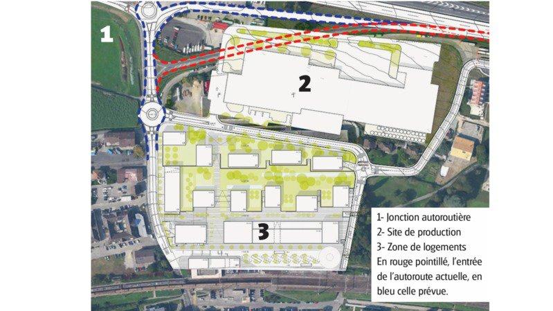 Les 3 étapes du projet Schenk à Rolle