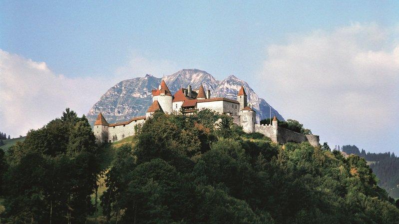 Le château de la Gruyère fait partie des 18 édifices réunis par l'association nationale.