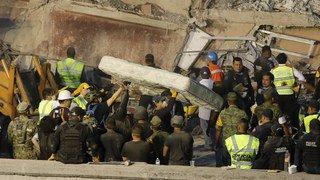 Tremblement de terre au Mexique: au moins 225 morts