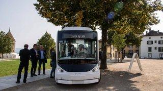 Rolle s'offre la mobilité du futur avec la navette Cristal