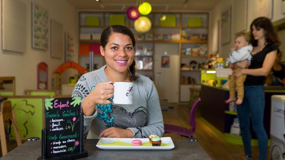 A Morges, Priscilla Metzener a pu ouvrir son «Little Coffee» grâce au financement participatif.