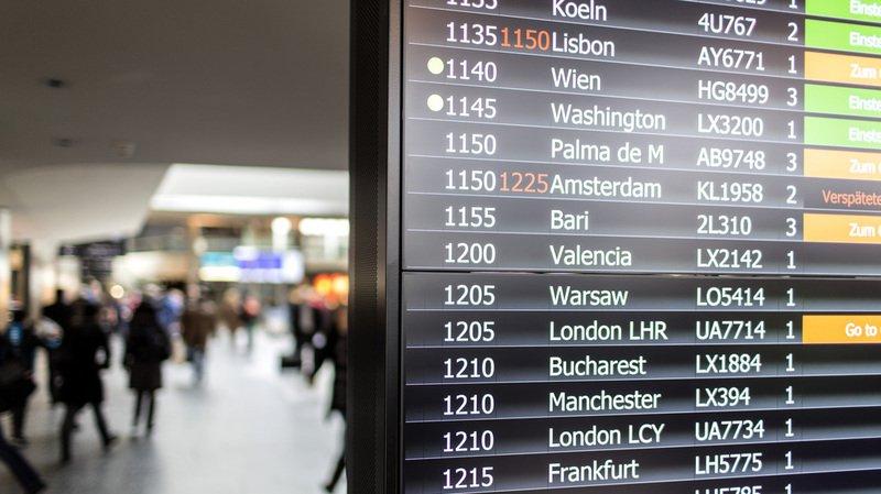 À cause de l'incident, cinq vols ont été annulés et huit avions ont été détournés vers d'autres aéroports. (Illustration)