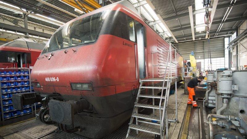 CFF: une première locomotive Re 460 a été entièrement modernisée