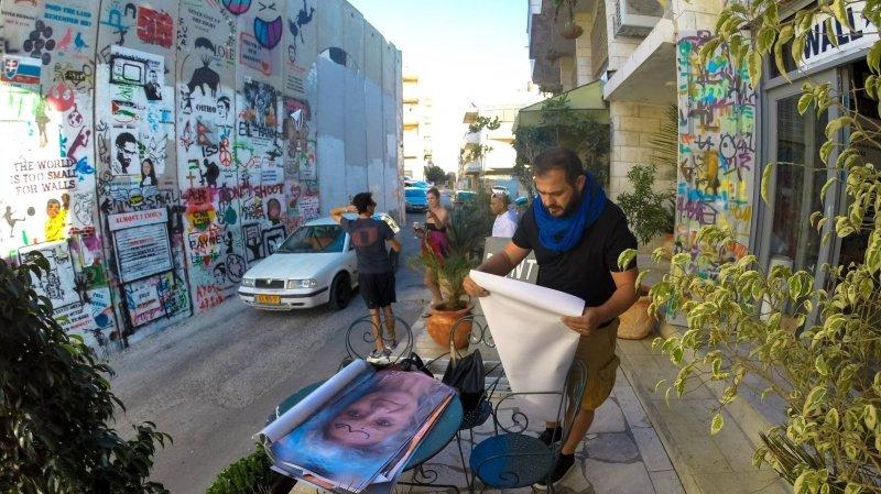 Petar Mitrovic a réuni Palestiniens et Israéliens en les photographiant côte à côte