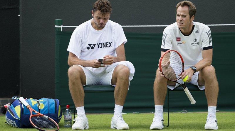 Tennis: l'entraîneur Magnus Norman cesse sa collaboration avec Wawrinka