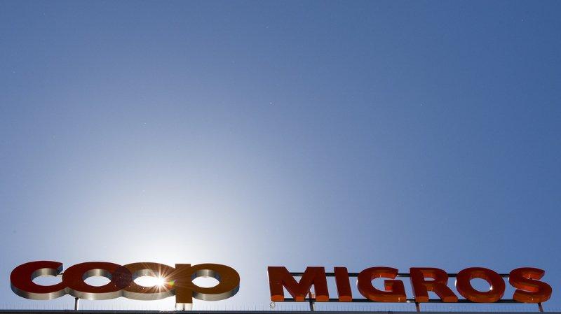 Commerce de détail: Migros et Coop augmentent les salaires jusqu'à 1%