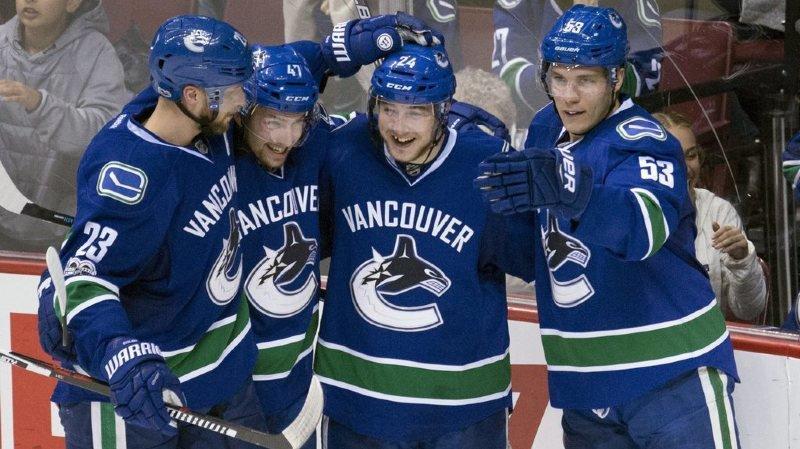 Hockey-NHL: un match à 3 points pour le Suisse Sven Bärtschi et Vancouver