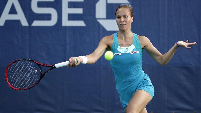 La Zurichoise a battu la Bulgare Viktoriya Tomova (WTA 151), 4-6 6-4 6-1.