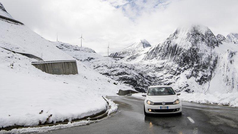 Météo: la neige a fait son apparition ce lundi