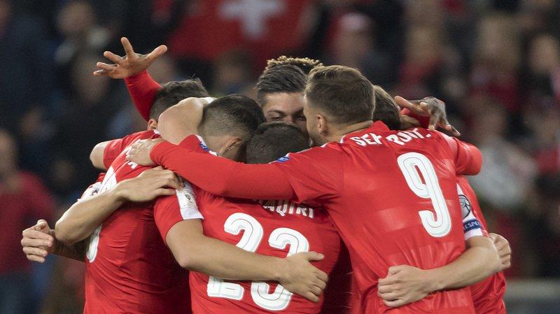 La Suisse a battu 5-2 la Hongrie lors de ce match de qualification.