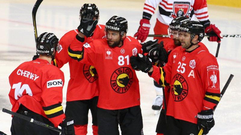 Hockey: Berne et Zoug qualifiés pour les 8es de finale de la Ligue des champions