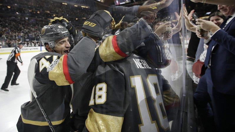 Hockey - NHL: les Golden Knights et Luca Sbisa battent Boston 3 à 1