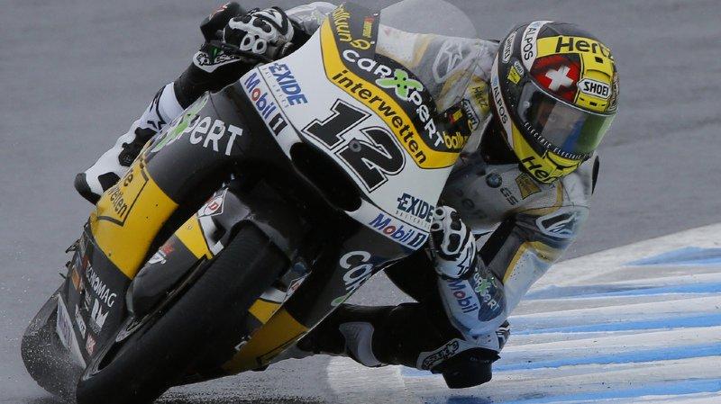 Moto2: seulement 11e au Japon, Tom Lüthi voit ses espoirs de titre mondial s'envoler