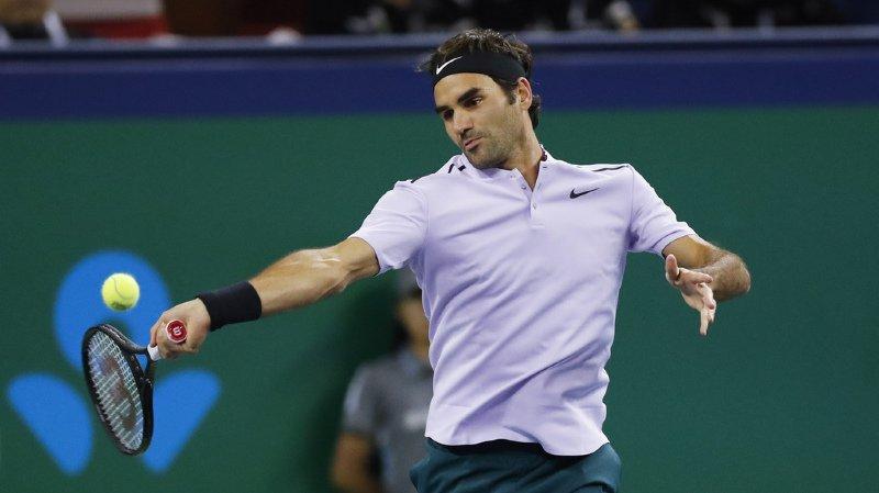 Tennis: Federer bat Del Potro et affrontera Nadal en finale du Masters 1000 de Shanghai