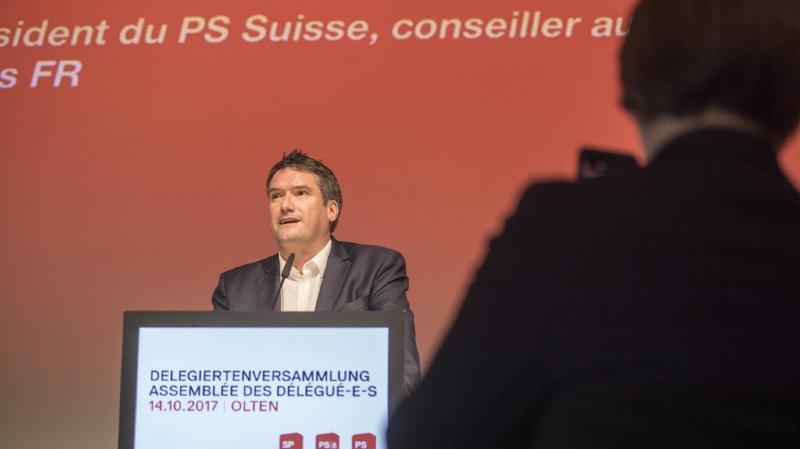 Réforme des retraites: au congrès du PS, Christian Levrat critique l'attitude des sections genevoise et jeunes