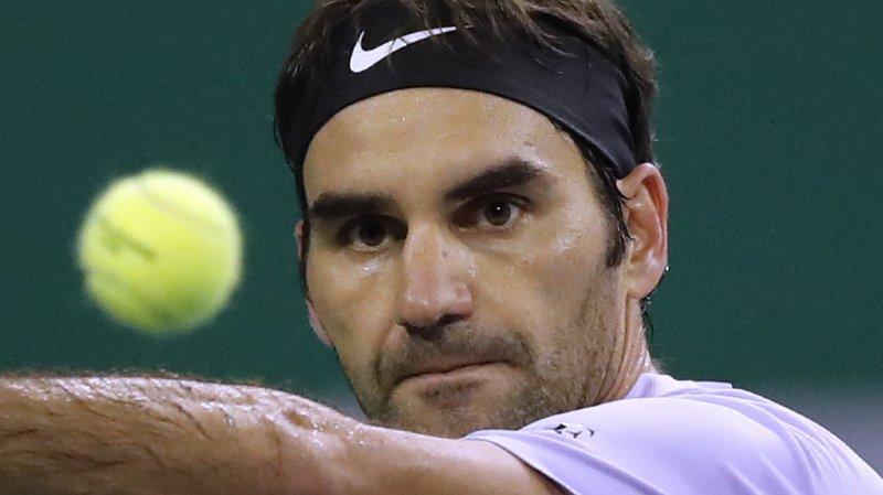Tennis: face à Nadal, Federer remporte le premier set de la finale du Masters 1000 de Shanghai