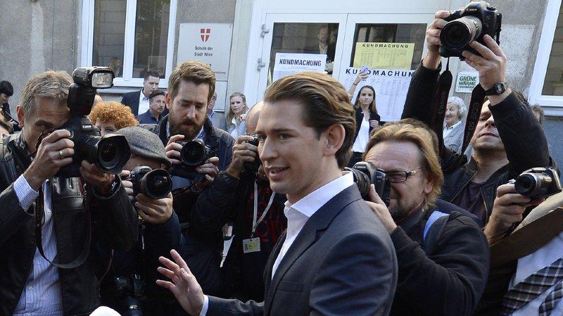 A 31 ans, Sebastian Kurz pourrait accéder au poste de chancelier autrichien.