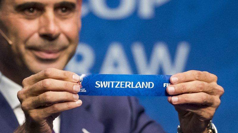 Mondial 2018: la Suisse affrontera l'Irlande du Nord en barrage, une situation idéale