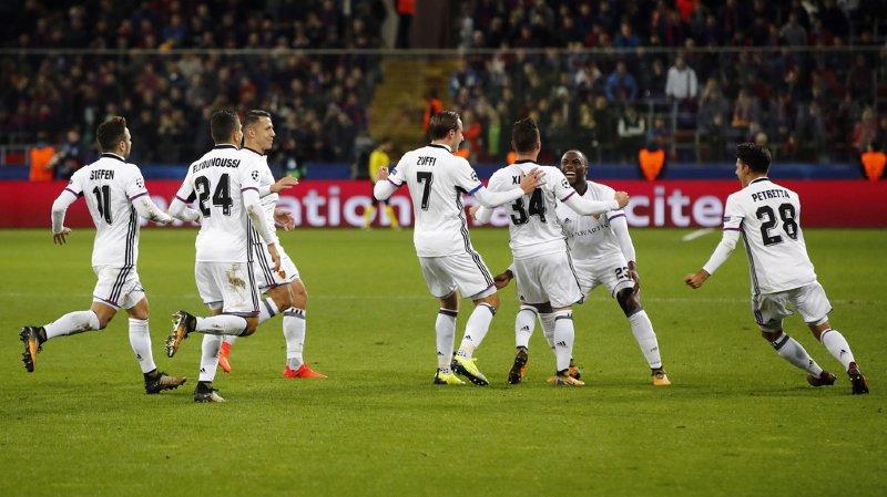 Ligue des champions: nouvelle victoire du FC Bâle qui s'impose 2-0 à Moscou face au CSKA